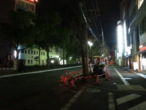 Wakayama roadworks