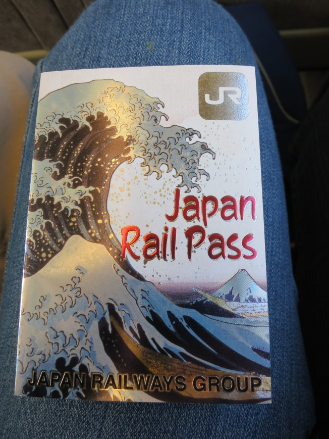 Japan Rail Pass wallet