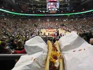 Quintessential basketball cuisine