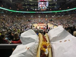 Quintessential basketball cuisine