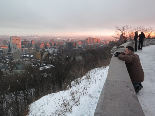 Sunset from Mont Royal