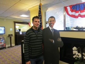 Me and the Pres