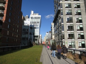 Riding the High Line