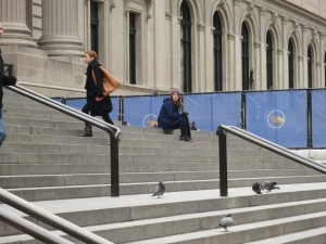 Steps of The Met, no Blair Waldorf to be seen